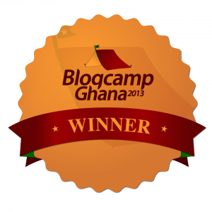 Blogcamp winner logo