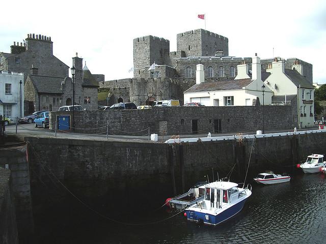 Castleown harbor