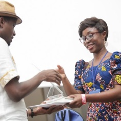 Naa Oyoo wins 1: Literay...