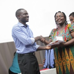 Patrick Agama, winner, Business Blog