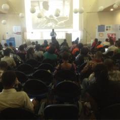 Nana Kofi's session on photo blogging
