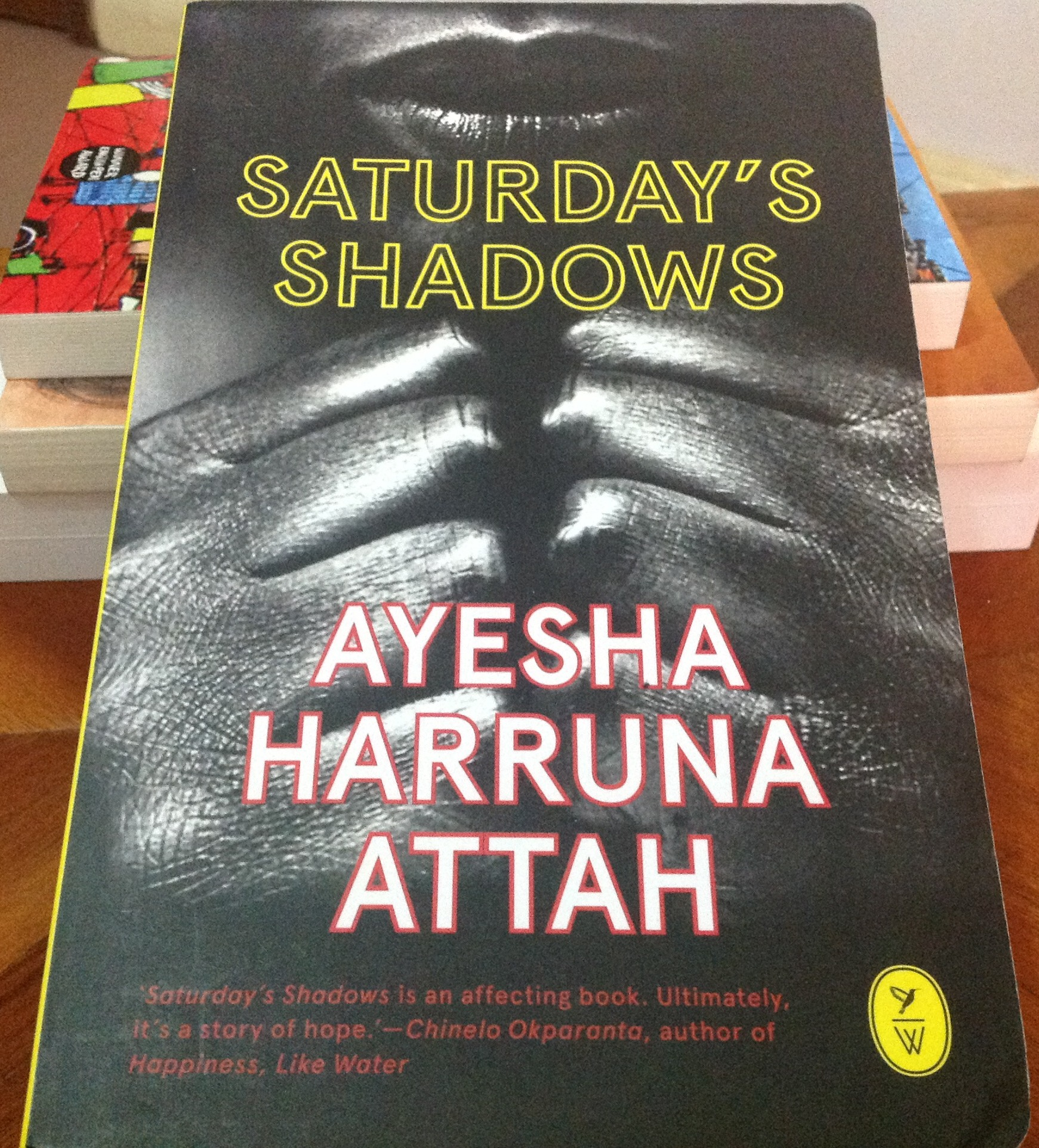 Image result for saturdays shadows ayesha
